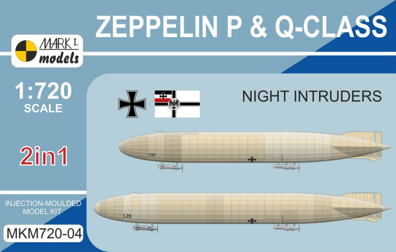 Zeppelin P & Q-class 'Night Intruders' (2in1)