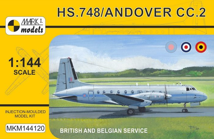 HS.748 Andover Military 'Europe'