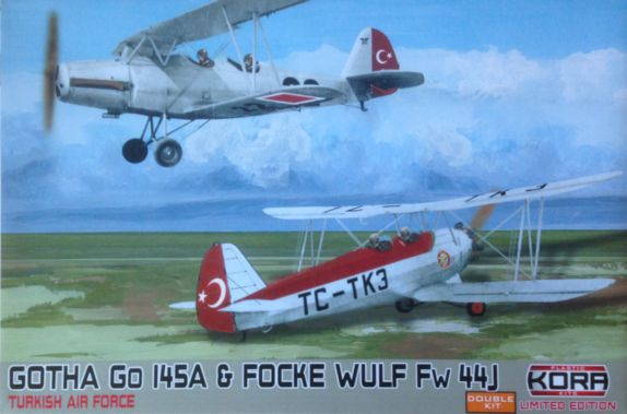 Gotha Go145A & Focke Wulf Fw 44J Turkish AF-Double kit