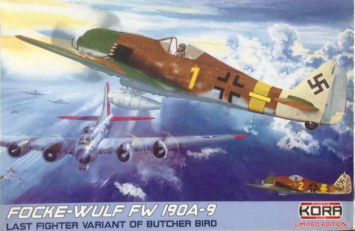 Focke-Wulf Fw-190A-9 German fighter