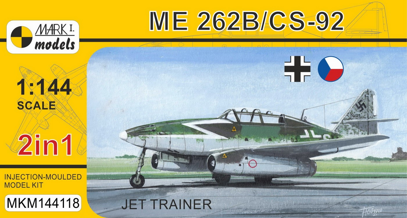 Me 262B/CS-92 'Jet Fighter' (2 in 1)