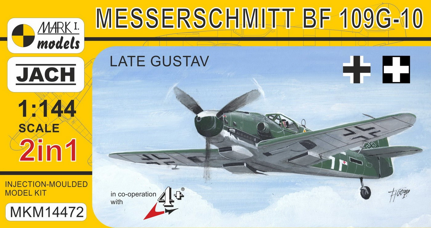 Bf 109G-10 'Gustav' (2 in 1)