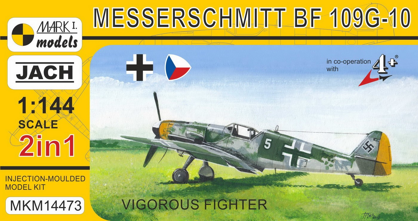 Bf 109G-10/Avia C-10 'Fighter' (2 in 1)