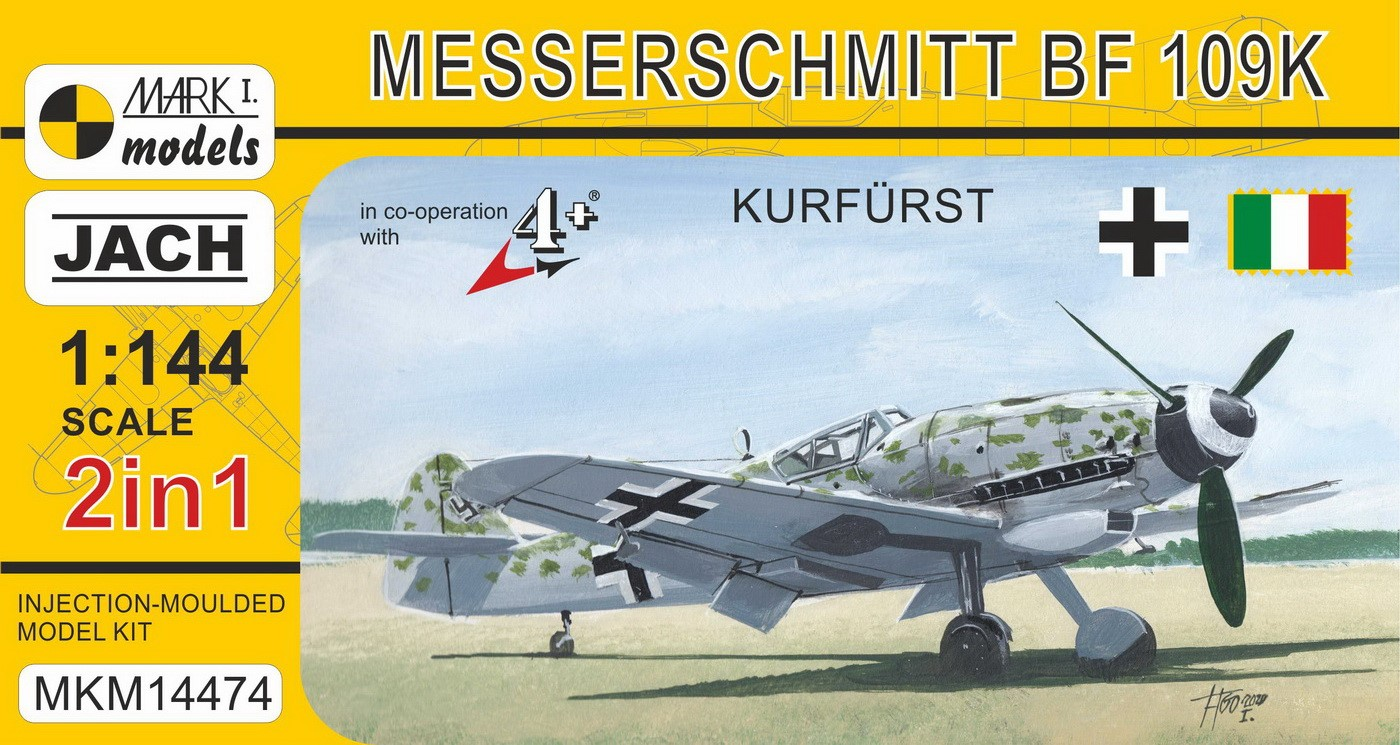 Bf 109K-4 'Kurfurst' (2 in 1)