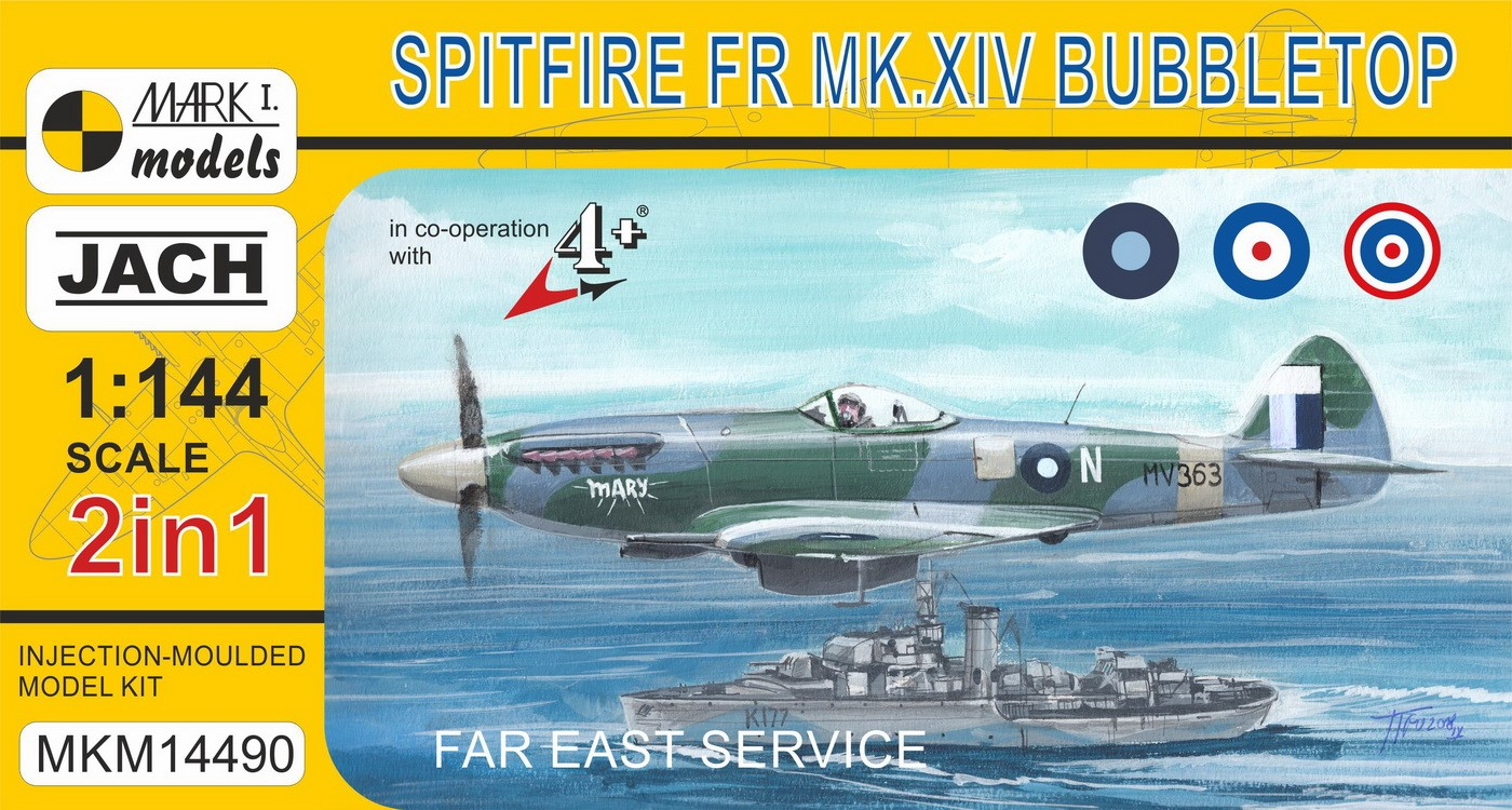 Spitfire XIV Bubbletop 'Far East Service' (2in1)
