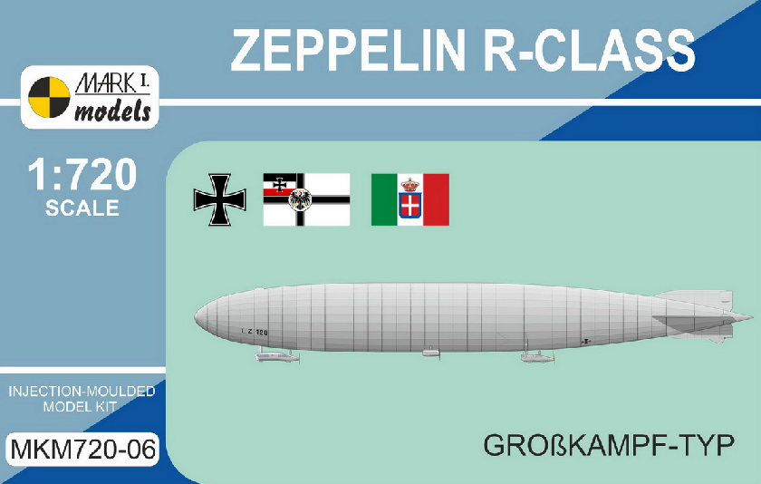 Zeppelin R-class 'Grosskampf-Typ' - Click Image to Close