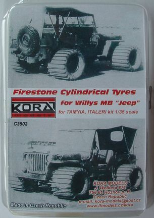 Firestone Cylinrical Tyres Jeep
