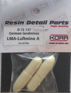 German landmines LMA (Luftmine A) (2pcs)