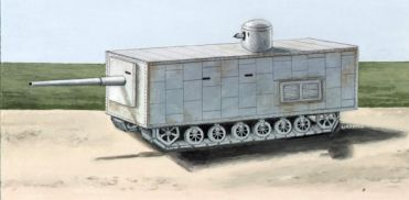 Mendeleyev Russian Project tank