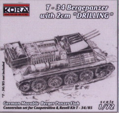 T-34 Bergepanzer w/2cm Drilling