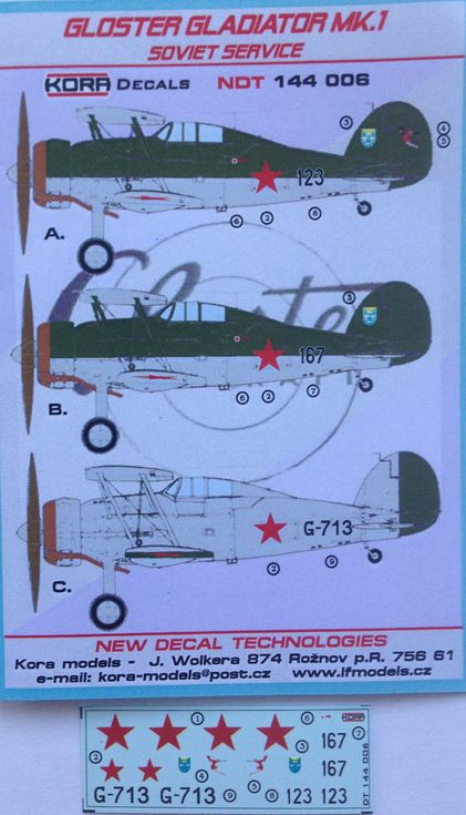 Gloster Gladiator MK.I. - Soviet service - Click Image to Close