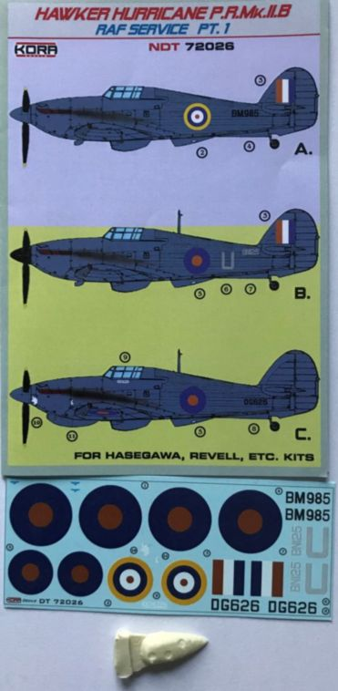 Hawker Hurricane PR Mk.IIB Part 1 (RAF Service) - Click Image to Close