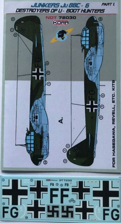 Junkers Ju-88C-6 Destroyer of U-Boot hunters Pt.1