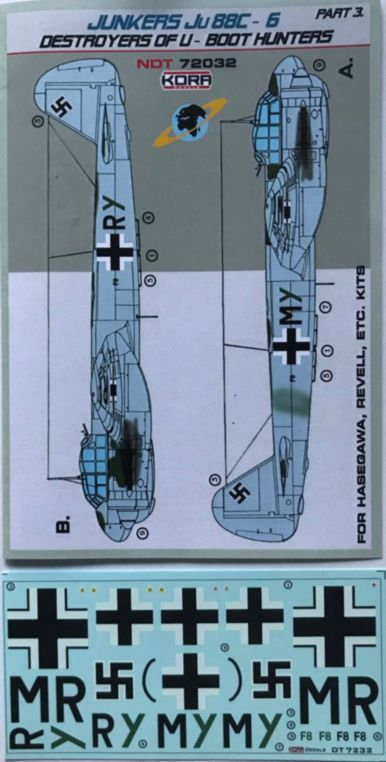 Junkers Ju-88C-6 Destroyer of U-Boot hunters Pt.3