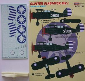 Gloster Gladiator Mk.I China