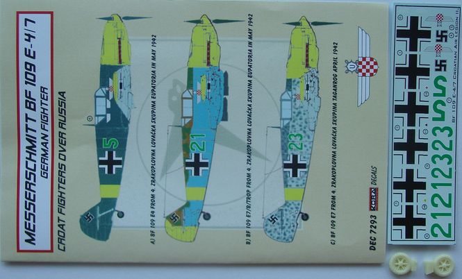 Bf 109E-3/4 Croatia over Russia part II.