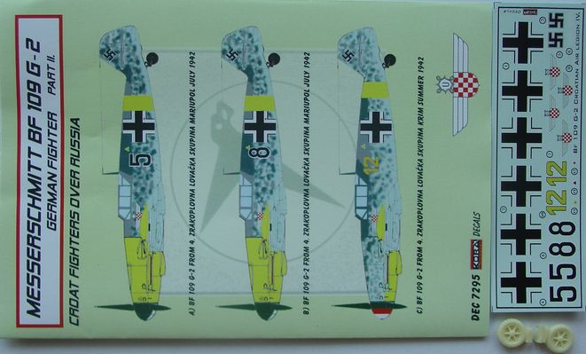Bf 109G-2 Croatia over Russia part II.