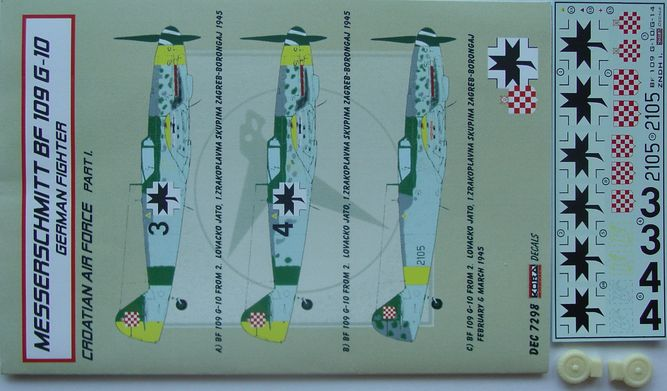 Bf 109G-10 Croatia part I.