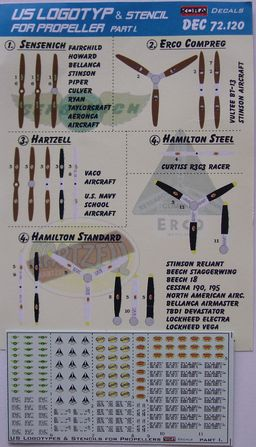 US Logotyp and stencils for propellers Part I.