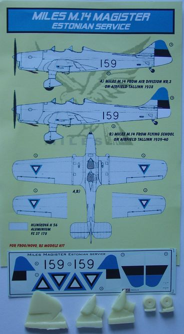 Miles M.14A Magister Estonian