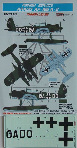 Arado Ar-196A-2 Finnish lease