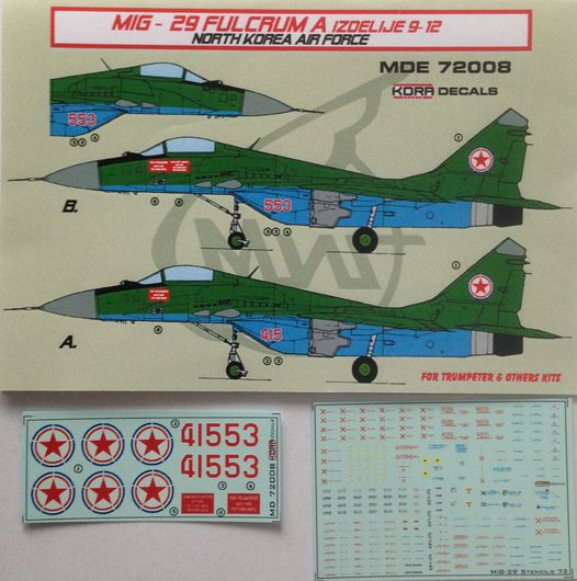 MiG-29 Fulcrum A North Korea