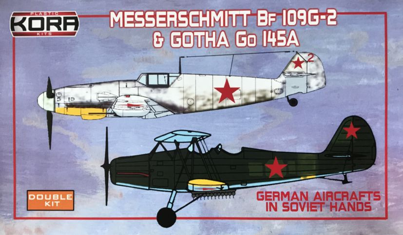Messerschmitt Bf-109G-6 & Gotha Go 145A in Soviet hands - Click Image to Close
