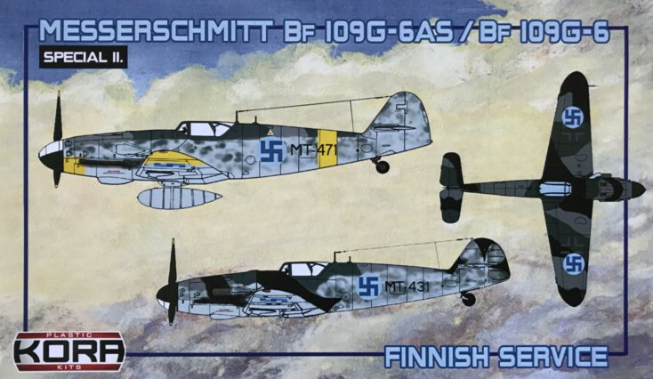Messerschmitt Bf-109G-6AS/G-6 Finnish service
