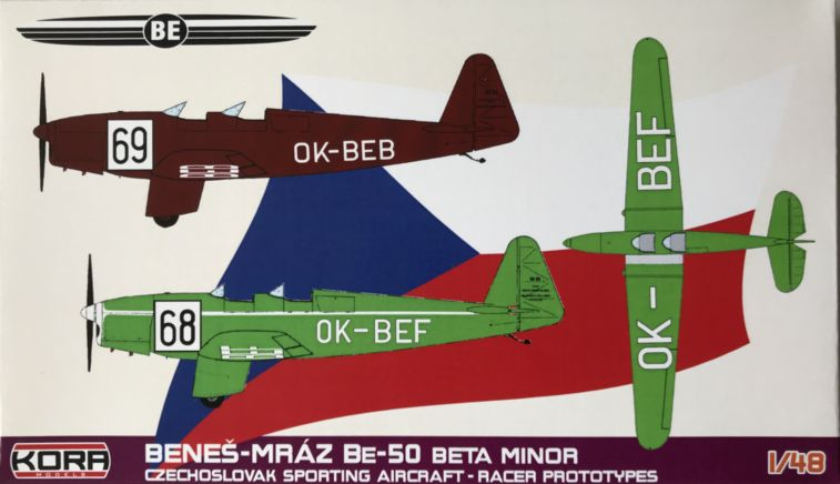 Benes-Mraz Be-50 Beta Minor Racer prototypes