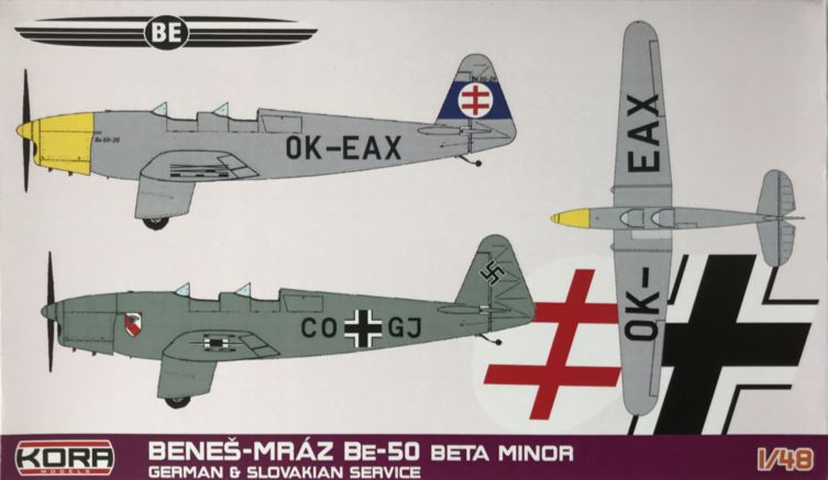 Benes-Mraz Be-50 Beta Minor German & Slovakian service