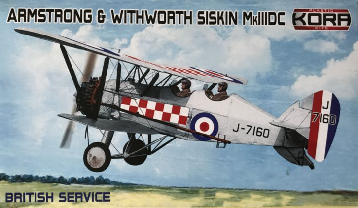Armstrong&Withworth Siskin Mk.IIIDC British service