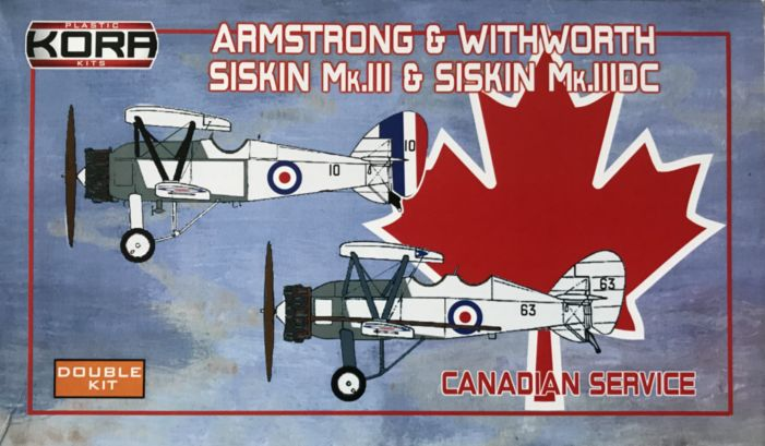 Armstrong&Withworth Siskin Mk.III & III.DC Double kit
