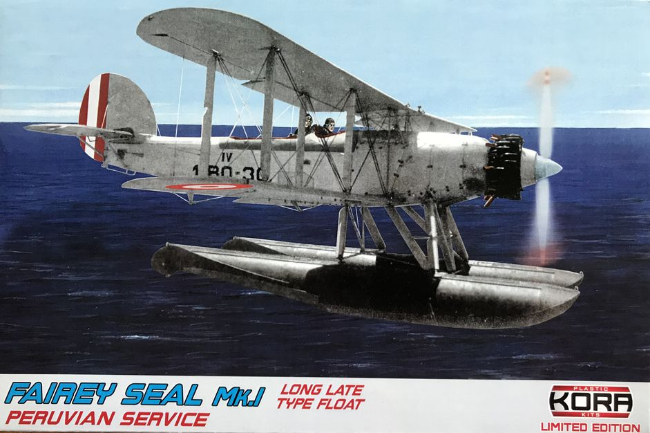 Fairey SEAL MK.I - Peruvian service -long type float late