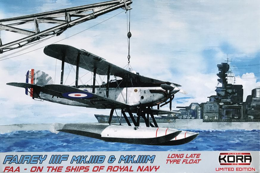 Fairey IIIF MK.IIIB & MK.IIIM FAA long type float late - Click Image to Close