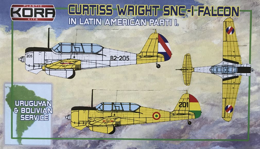 Curtiss Wright SNC-1 Falcon in Latin American service Part I.