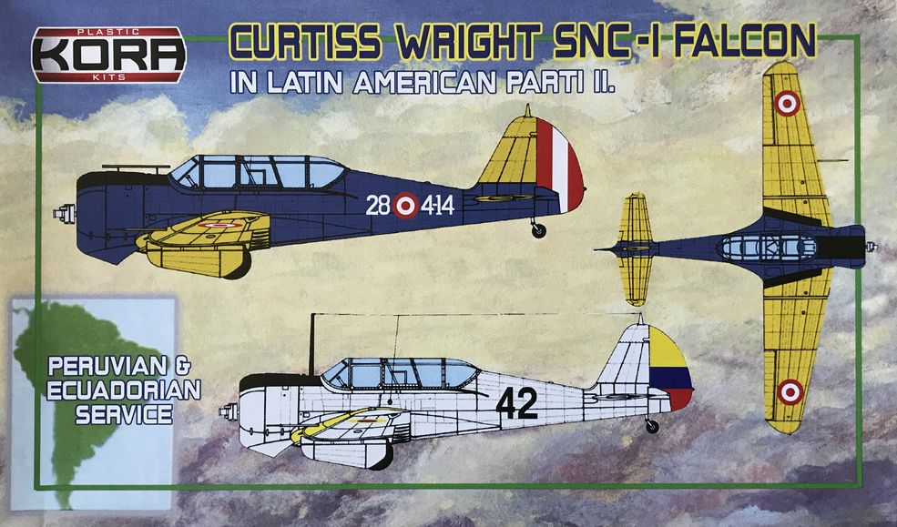 Curtiss Wright SNC-1 Falcon in Latin American service Part II.