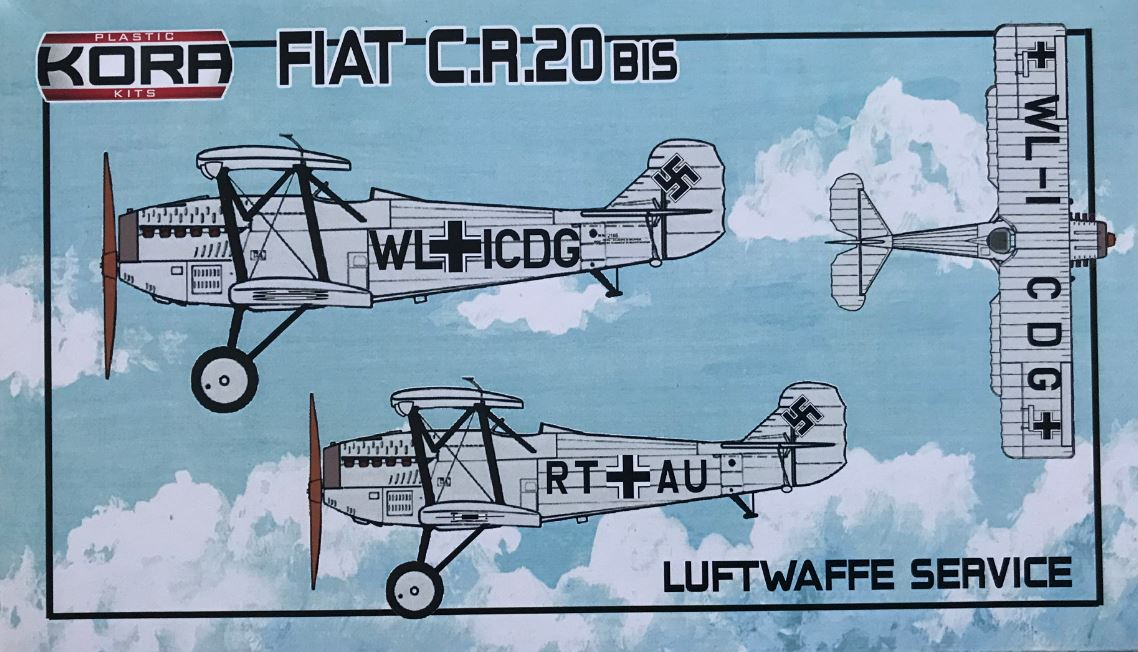 Fiat Cr.20 bis in Luftwaffe Service - Click Image to Close