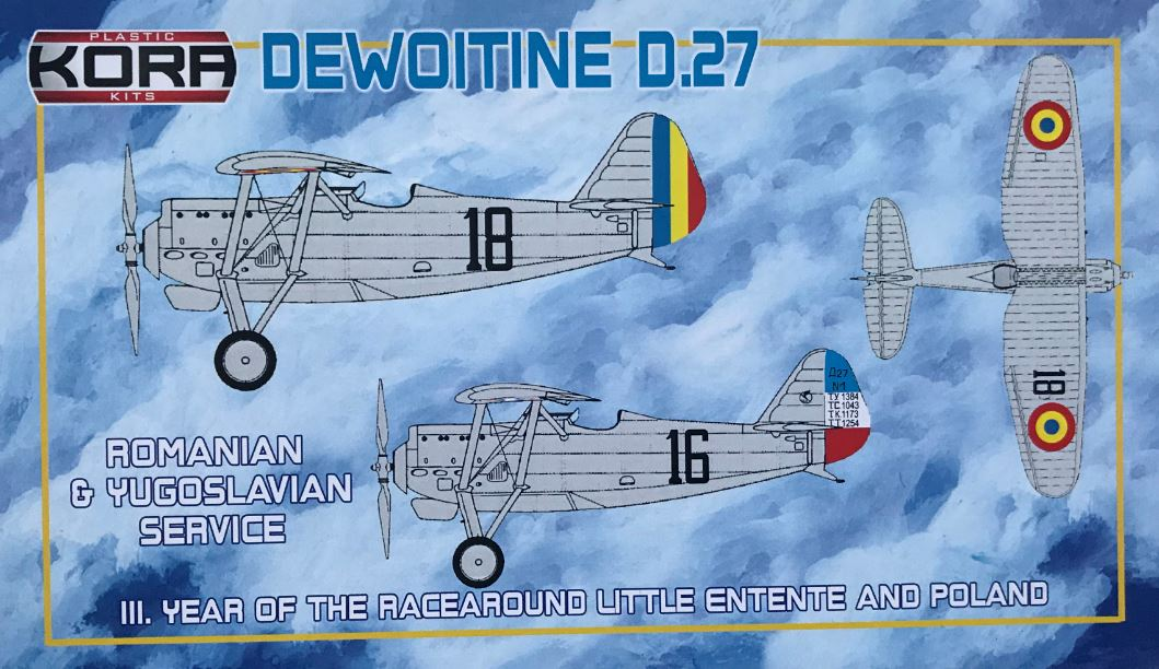 Dewoitine D.27 Romainian and Yugoslav Service
