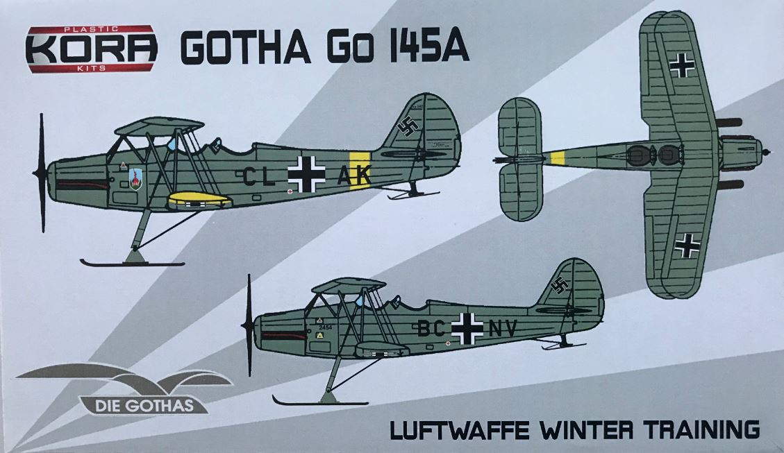 Gotha Go-145A Luftwaffe Winter Training