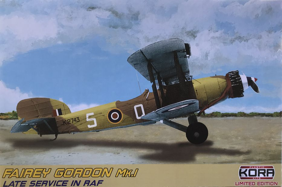 Fairey Gordon Mk.I Late Service in RAF