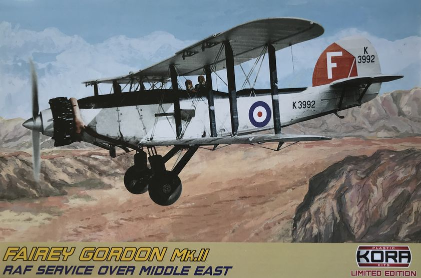 Fairey Gordon Mk.II RAF Service over Middle East