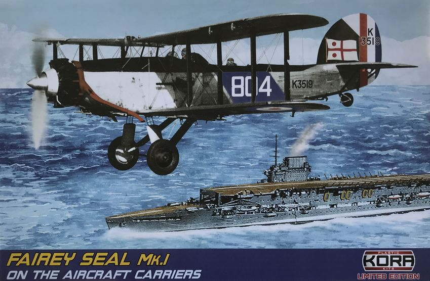 Fairey Seal Mk.I RAF on The Aircraft Carriers
