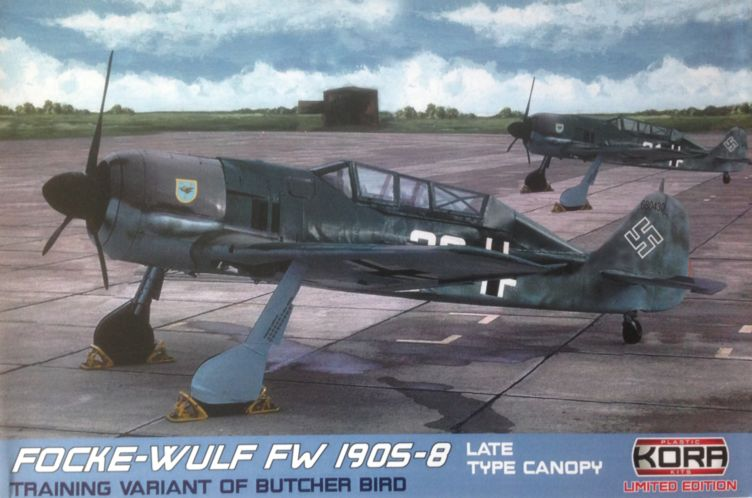 Focke-Wulf Fw-190S-8 German late canopy type