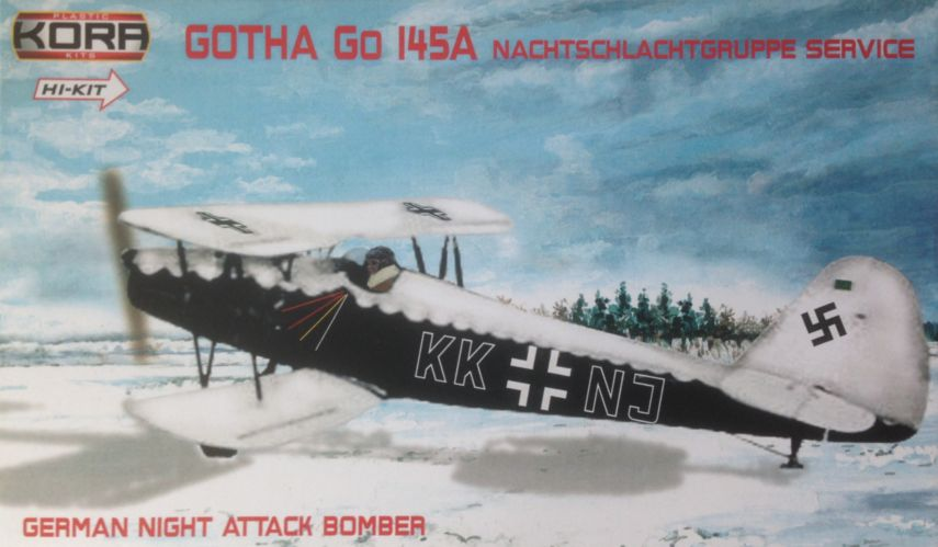 Gotha Go-145A German Night Attack Hi-kit