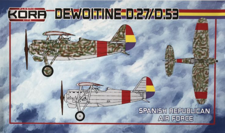 Dewoitine D.27/D.53 Spanish Republican Air service