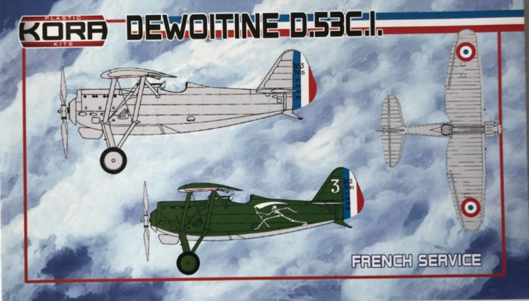 Dewoitine D.53C.I. French Service