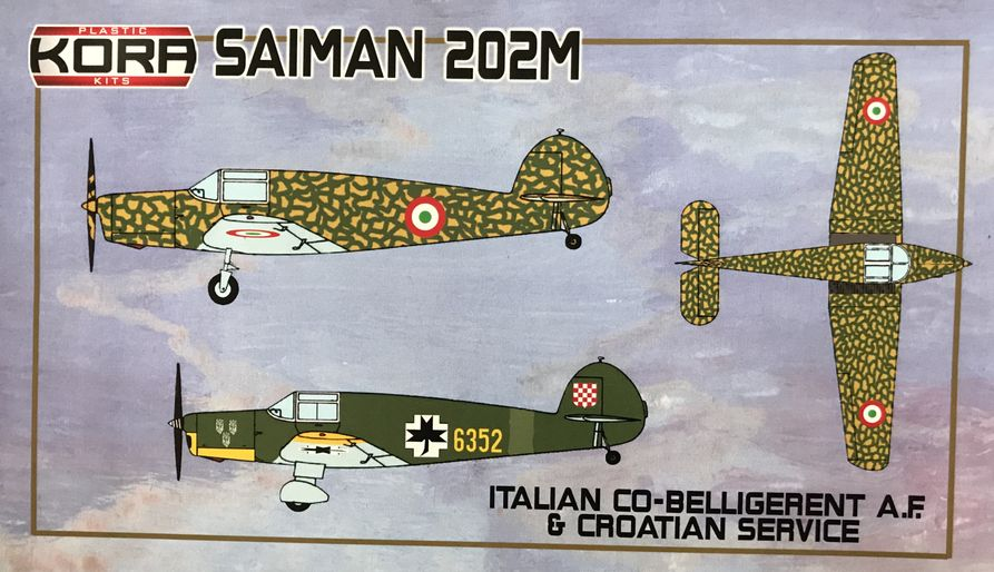 Saiman 202M Italian & Croatian service - Click Image to Close