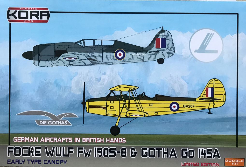 Focke-Wulf Fw-190S-8 and Gotha Go-145A-1 - Double kit