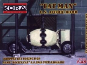 Fat Man US atomic bomb