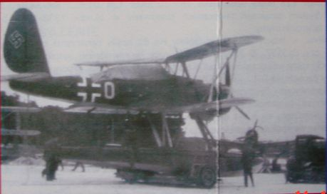 Transport Carriage for Arado Ar 95
